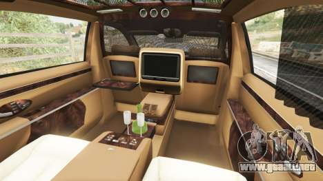 Maybach 62 S para GTA 5