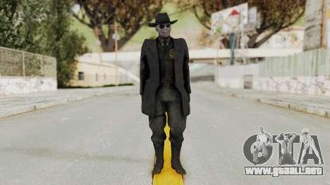MGSV Phantom Pain SKULLFACE No Mask para GTA San Andreas segunda pantalla