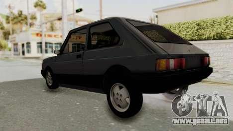 Fiat 147 Spazio TR para la visión correcta GTA San Andreas