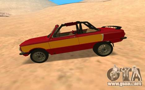 ЗАЗ-968 Offroad Style para GTA San Andreas left