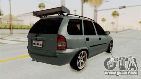 Chevrolet Corsa Wagon Tuning para la visión correcta GTA San Andreas