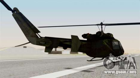 Castro V Attack Copter from Mercenaries 2 para GTA San Andreas left