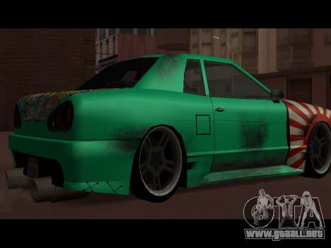 Elegy Paintjob JDM para GTA San Andreas left