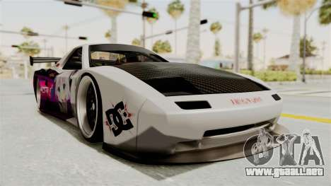 Mazda RX-7 FC Itasha para la visión correcta GTA San Andreas