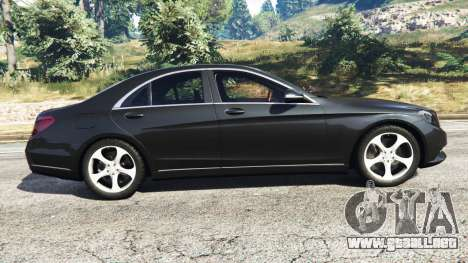 GTA 5 Mercedes-Benz S500 vista lateral izquierda
