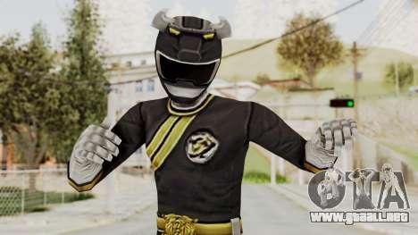 Power Rangers Wild Force - Black para GTA San Andreas