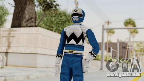 Power Rangers Lost Galaxy - Blue para GTA San Andreas