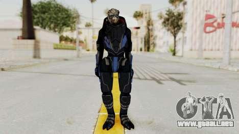 Mass Effect 2 Garrus para GTA San Andreas segunda pantalla
