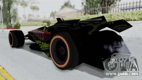 Bad to the Blade from Hot Wheels para GTA San Andreas left