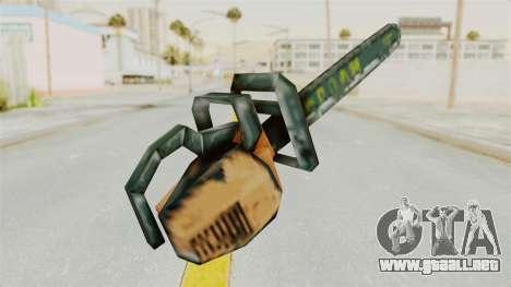 Metal Slug Weapon 8 para GTA San Andreas segunda pantalla