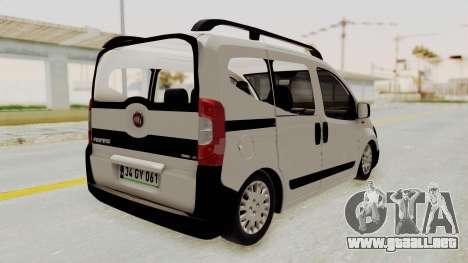 Fiat Fiorino 2014 para GTA San Andreas left
