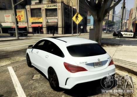 Mercedes-Benz CLA 45 AMG Shooting Brake para GTA 5