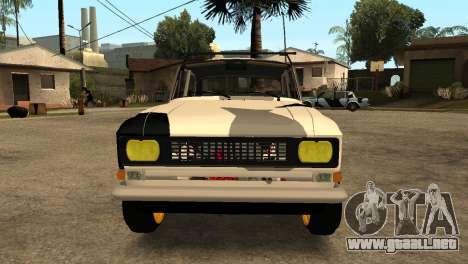 AZLK 412 para GTA San Andreas left