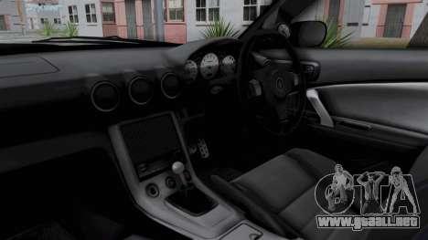 Nissan Silvia S15 RDT para visión interna GTA San Andreas