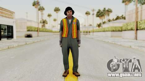 GTA 5 Trevor v1 para GTA San Andreas segunda pantalla