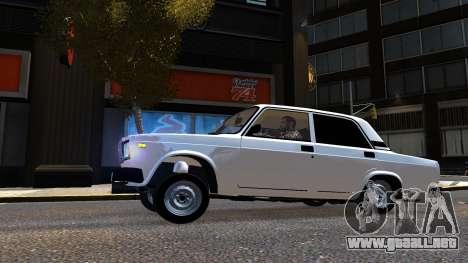 VAZ 2107 AzElow para GTA 4 left