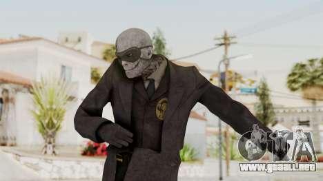 MGSV Phantom Pain SKULLFACE No Hat para GTA San Andreas