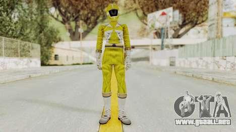 Power Rangers Lightspeed Rescue - Yellow para GTA San Andreas segunda pantalla