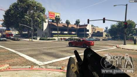 GTA 5 Steyr AUG A1 quinta captura de pantalla