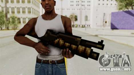 Metal Slug Weapon 1 para GTA San Andreas segunda pantalla