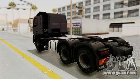 Volvo FMX Euro 5 6x4 para GTA San Andreas left