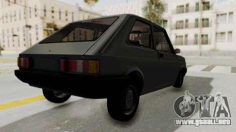 Fiat 147 Vivace para GTA San Andreas left
