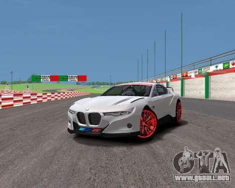 BMW 3.0 CSL Hommage R para GTA 4 Vista posterior izquierda