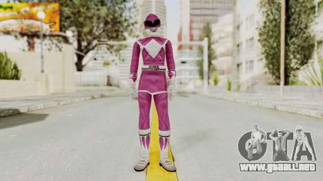 Mighty Morphin Power Rangers - Pink para GTA San Andreas segunda pantalla