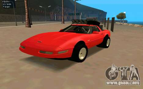 Chevrolet Corvette C4 para GTA San Andreas