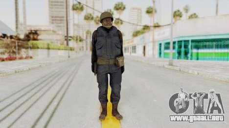 MGSV Phantom Pain RC Soldier Vest v2 para GTA San Andreas segunda pantalla