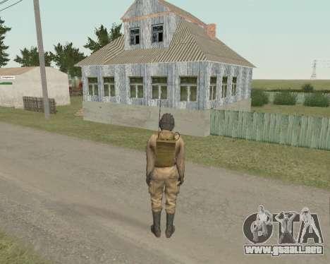 Los soldados soviéticos para GTA San Andreas tercera pantalla