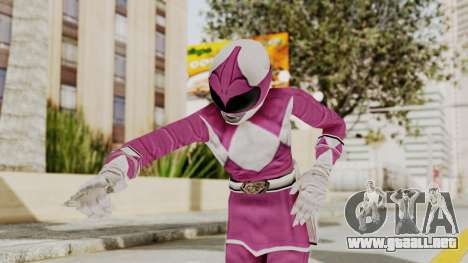 Mighty Morphin Power Rangers - Pink para GTA San Andreas