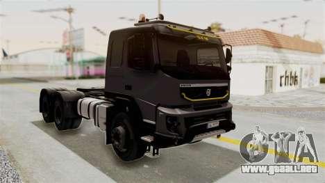 Volvo FMX Euro 5 6x4 para la visión correcta GTA San Andreas