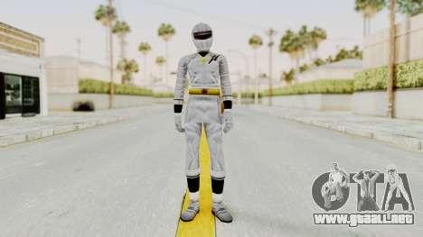 Alien Rangers - White para GTA San Andreas segunda pantalla
