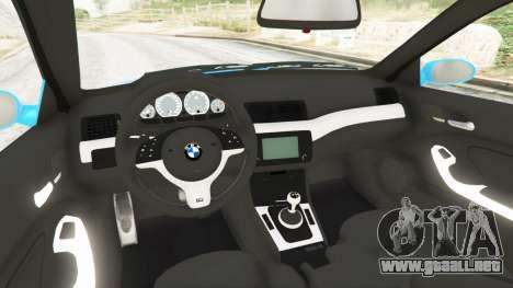 BMW M3 (E46) 2005 Pickup para GTA 5