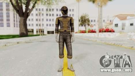 Power Rangers Lightspeed Rescue - Titanium para GTA San Andreas segunda pantalla