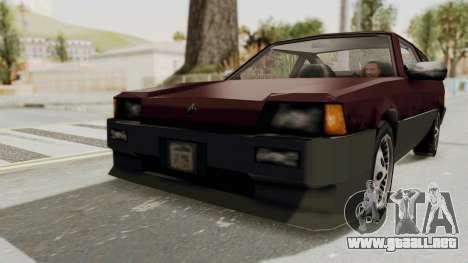 Blista Compact GPX (Beta VC Blistac) para la visión correcta GTA San Andreas