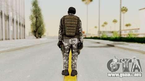 Black Mesa - HECU Marine Beret para GTA San Andreas tercera pantalla