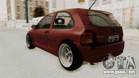 Chevrolet Corsa Hatchback Tuning v1 para GTA San Andreas left