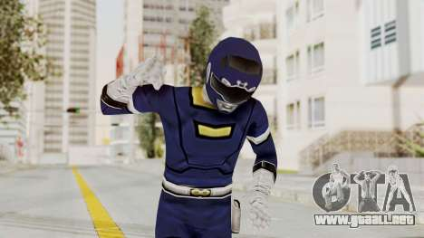 Power Rangers Turbo - Blue para GTA San Andreas