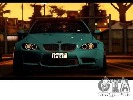 BMW M3 E92 Libertad Pie LB Rendimiento para la visión correcta GTA San Andreas