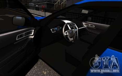 Ford Explorer 2013 para GTA 4 left