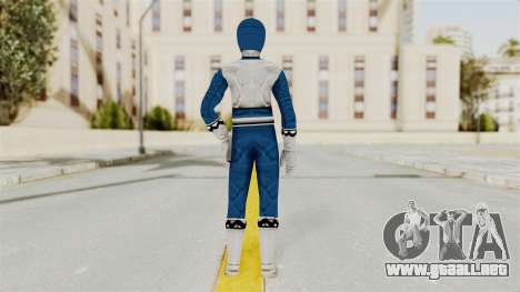 Power Rangers Lost Galaxy - Blue para GTA San Andreas tercera pantalla