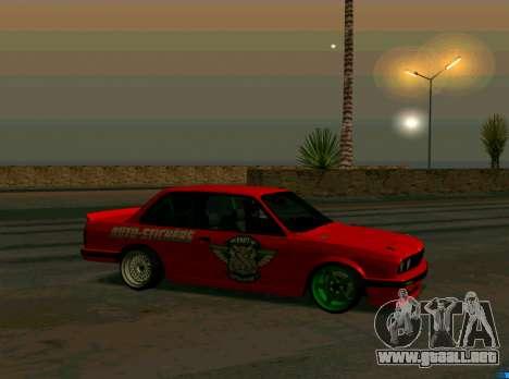 BMW E30 Drift para GTA San Andreas left