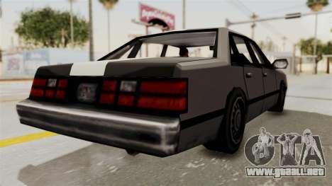 Stanier Turbo para la visión correcta GTA San Andreas