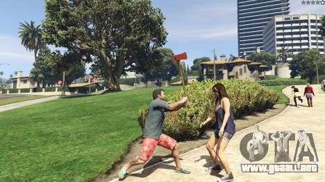 GTA 5 Weapon Variety 0.9 sexta captura de pantalla
