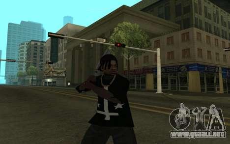 Grove Gang Skin para GTA San Andreas tercera pantalla