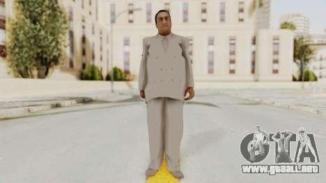 Taher Shah White Suit para GTA San Andreas segunda pantalla