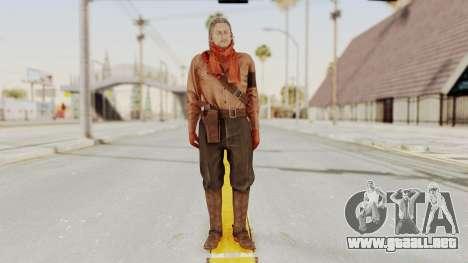 MGSV Phantom Pain Ocelot Mother Base para GTA San Andreas segunda pantalla