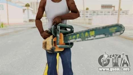 Metal Slug Weapon 8 para GTA San Andreas tercera pantalla